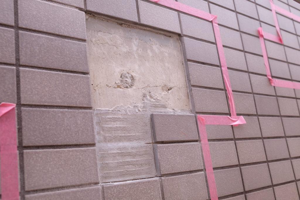 マンションの外壁タイルのメンテナンスについて!②